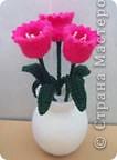 Вязаные тюльпаны !!! МК фото 2