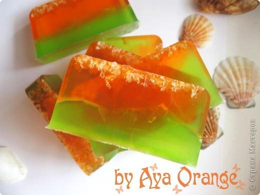мыло ручной работы:) содержит витамин а, льняное масло, кофе, аромат мандарин шоколад фото 8