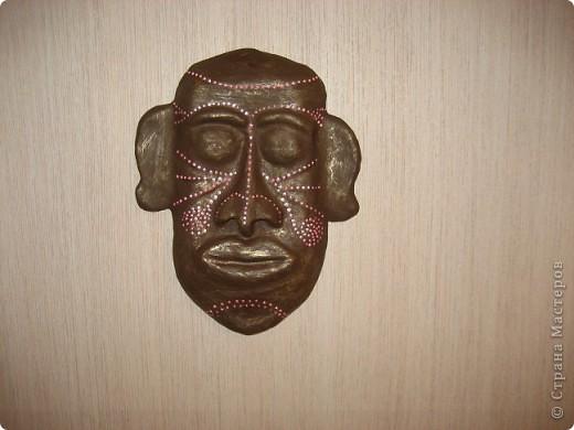 Увидев маски, выставленные  на сайте,соблазнилась и попробовала сделать сама. фото 1