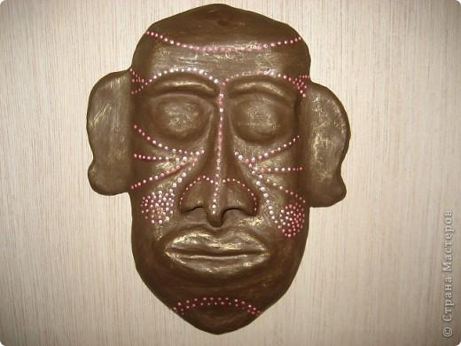 Увидев маски, выставленные  на сайте,соблазнилась и попробовала сделать сама. фото 2
