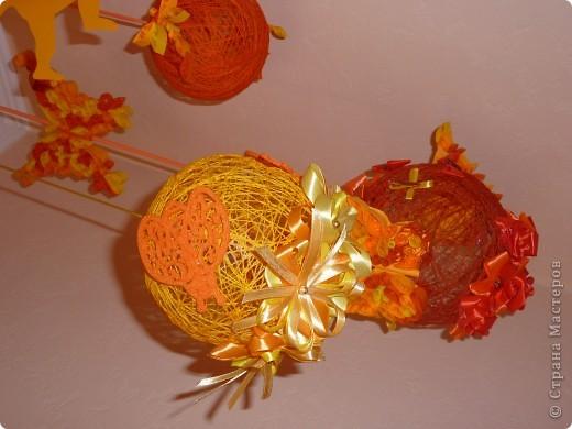 Украшаем подоконники или пополнение коллекции ниточных шаров)))) фото 4