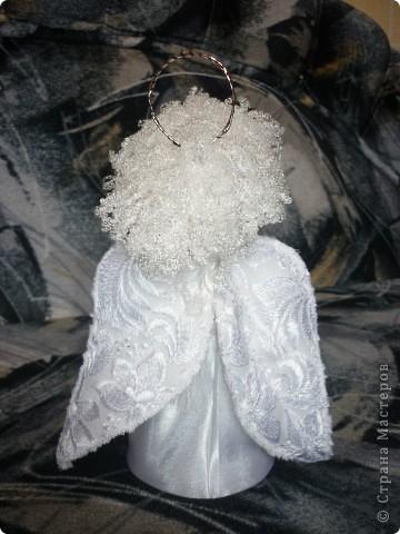 Сделала в подарок  коллеге по работе в её коллекцию ангелов фото 4