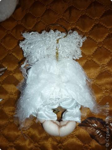 Сделала в подарок  коллеге по работе в её коллекцию ангелов фото 6