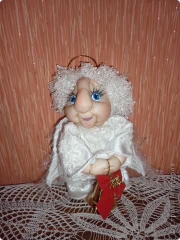 Сделала в подарок  коллеге по работе в её коллекцию ангелов фото 5