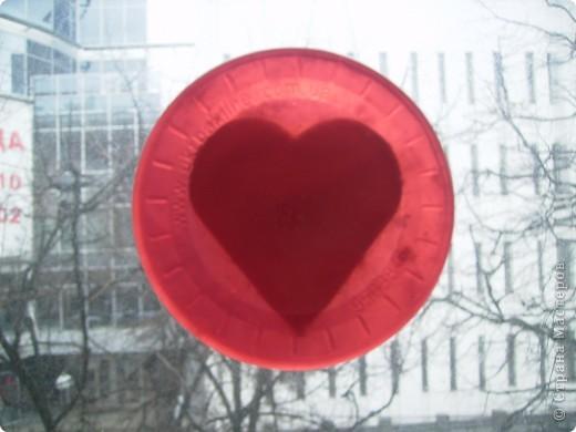 Сердце на окне