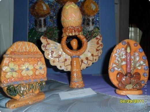 На днях в нашем городском музее Православного искусства прошла выставка. Предлагаю вашему вниманию некоторые работы. фото 6