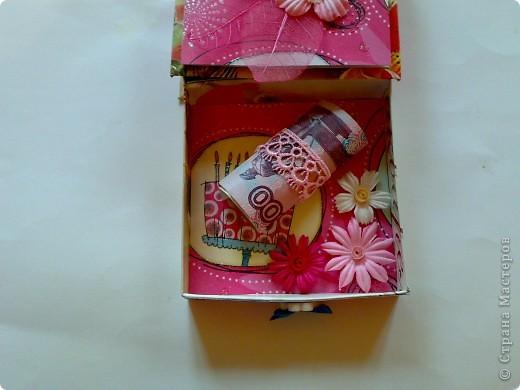 Коробочка для подруги на день рождение. фото 5