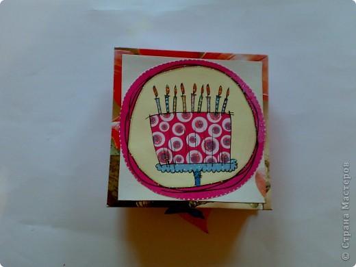 Коробочка для подруги на день рождение. фото 6