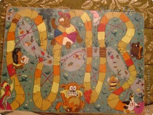 В закромах своих фотографий нашла игры которые рисовала 11 лет назад на оргалите для старшей дочки фото 2