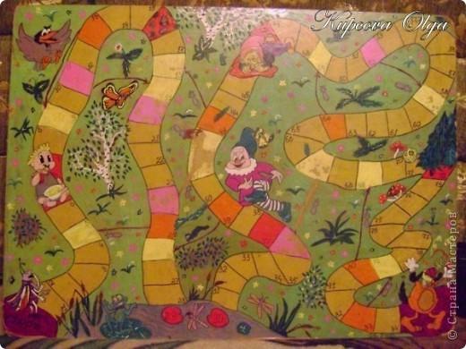 В закромах своих фотографий нашла игры которые рисовала 11 лет назад на оргалите для старшей дочки фото 3