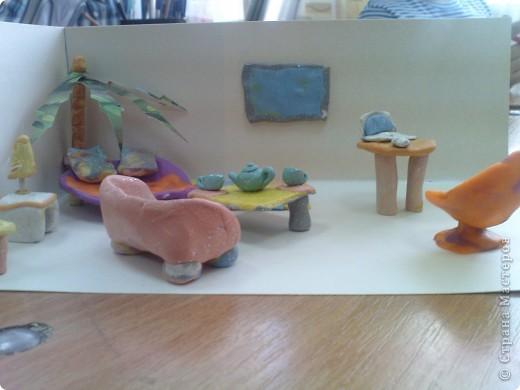 морская комната(делал мальчишка,ион уже ждет лето! фото 5
