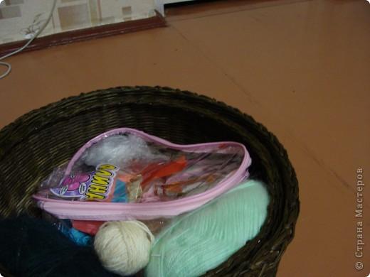 Накопилось много ниток для вязания, которые были разбросаны повсюду.... Вот и захотелось их как то собрать в кучу ) фото 3