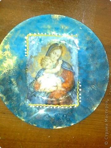 Лавандовая тарелочка фото 4