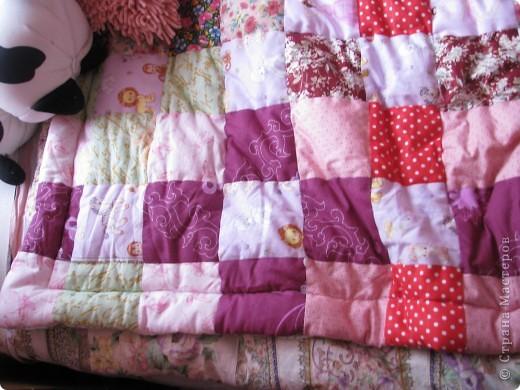 Лоскутное одеяло фото 3