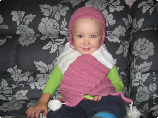 шапочка и шарф фото 10