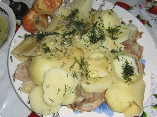 Бишбармак-блюдо из баранины. фото 1