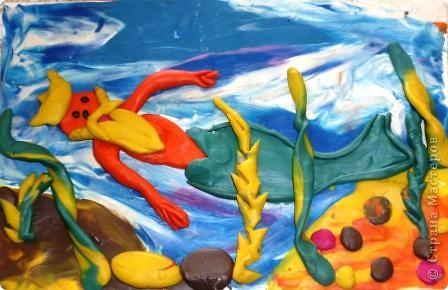 Морской царь. Автор: Равиль Харисов, ученик 2 класса. фото 1