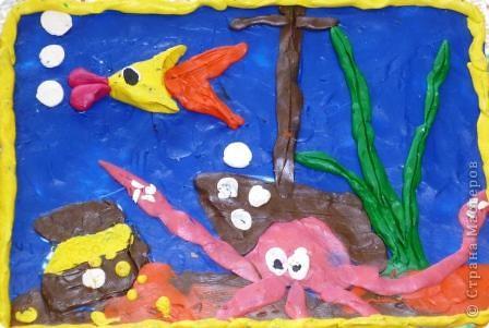 Морской царь. Автор: Равиль Харисов, ученик 2 класса. фото 5