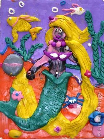 Морской царь. Автор: Равиль Харисов, ученик 2 класса. фото 4