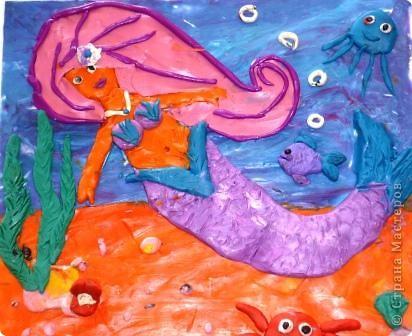 Морской царь. Автор: Равиль Харисов, ученик 2 класса. фото 2