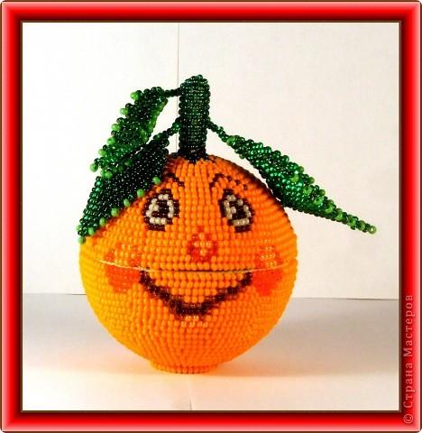 """шкатулка """"весёлый апельсин"""" фото 1"""