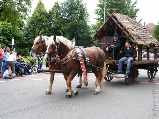 Майентаг - народный праздник, проходящий в мае или июне в  городе Геппинген (также в других городах юга Германии). Проводится он уже с августа  1650, в честь празднования  окончания 30-ти летней войны.  На день раньше проходит концерт,  на следуюший день праздничное шествие, приезжает луна-парк и в конце 3-го дня с открытия атракционов все заканчивается фейерверком. фото 31