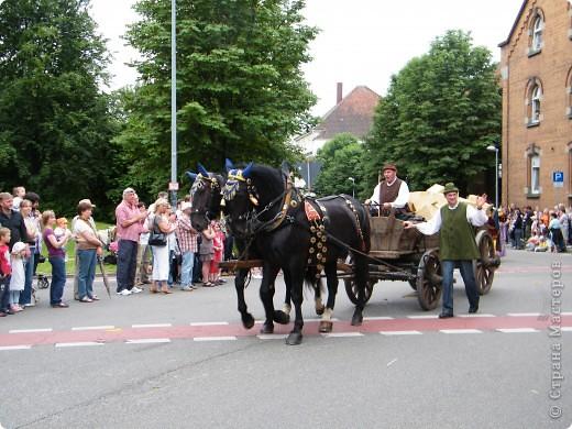 Майентаг - народный праздник, проходящий в мае или июне в  городе Геппинген (также в других городах юга Германии). Проводится он уже с августа  1650, в честь празднования  окончания 30-ти летней войны.  На день раньше проходит концерт,  на следуюший день праздничное шествие, приезжает луна-парк и в конце 3-го дня с открытия атракционов все заканчивается фейерверком. фото 38