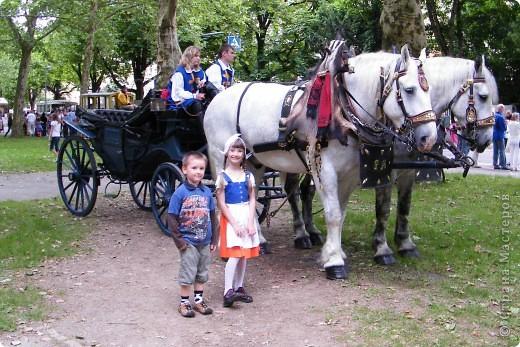 Майентаг - народный праздник, проходящий в мае или июне в  городе Геппинген (также в других городах юга Германии). Проводится он уже с августа  1650, в честь празднования  окончания 30-ти летней войны.  На день раньше проходит концерт,  на следуюший день праздничное шествие, приезжает луна-парк и в конце 3-го дня с открытия атракционов все заканчивается фейерверком. фото 44