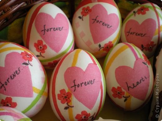 Яйца украшаю бумажными салфетками. фото 5