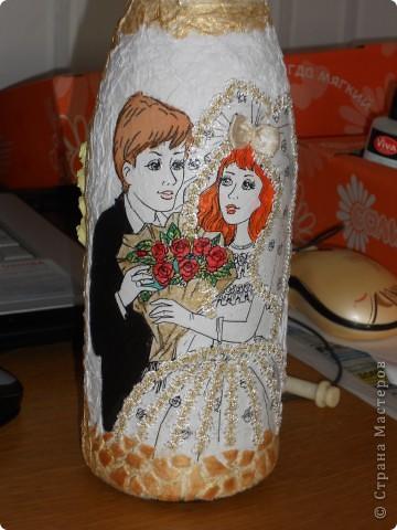 Цвет волос сделала как и у настоящей невесты:) фото 3