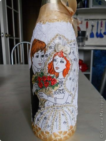 Цвет волос сделала как и у настоящей невесты:) фото 2