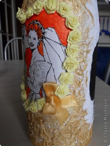 Цвет волос сделала как и у настоящей невесты:) фото 8