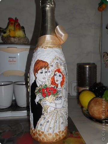 Цвет волос сделала как и у настоящей невесты:) фото 4