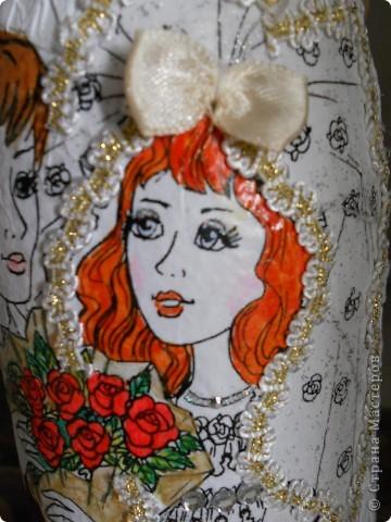 Цвет волос сделала как и у настоящей невесты:) фото 1