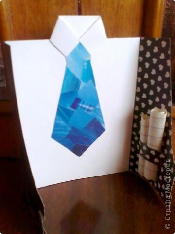 Первая поделка в технике модульного оригами фото 3