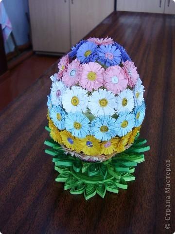 Квиллинговое яйцо.