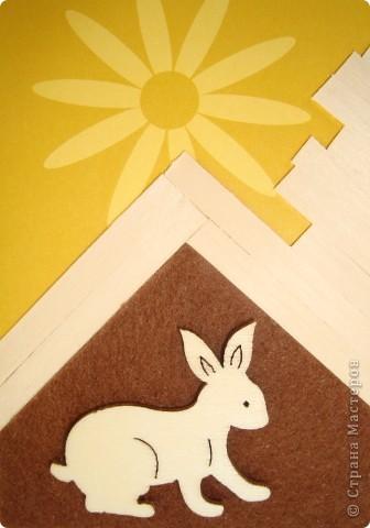 Для карточек использовала деревянные тонкие реечки, деревянных зайчиков, фетр, бумагу. Это моя первая попытка. Спасибо, Александра (k.aktus)! фото 9