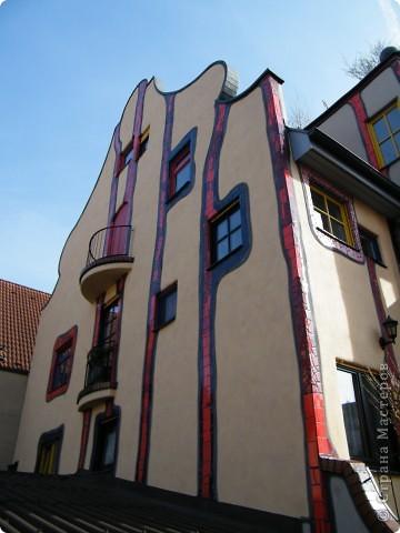 Дом художника Хундертвассера в Плохингене фото 3