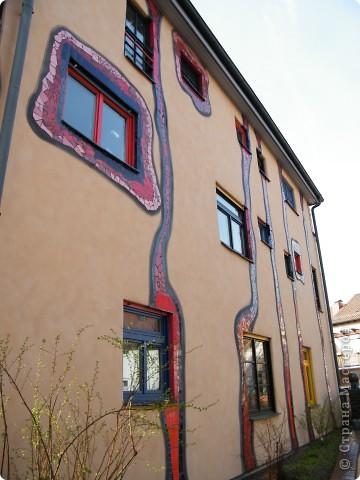 Дом художника Хундертвассера в Плохингене фото 8