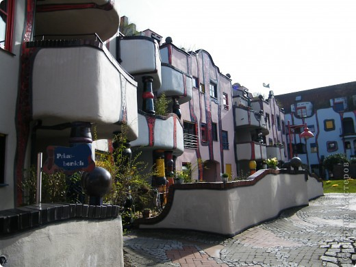 Дом художника Хундертвассера в Плохингене фото 6