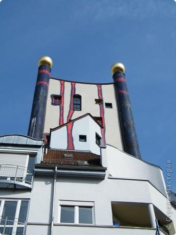 Дом художника Хундертвассера в Плохингене фото 1