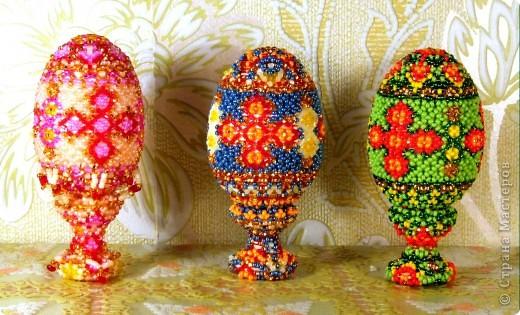 пасхальные яйца сделаные к Пасхе 2011 г. фото 2
