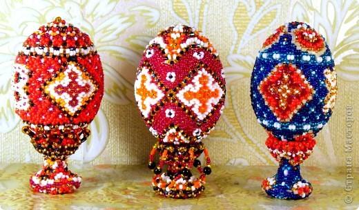 пасхальные яйца сделаные к Пасхе 2011 г. фото 1