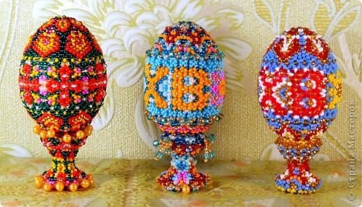пасхальные яйца сделаные к Пасхе 2011 г. фото 3