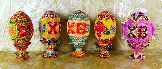 пасхальные яйца сделаные к Пасхе 2011 г. фото 4