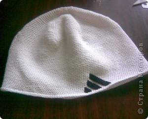 Вот я и связала шапочку для сына. фото 2