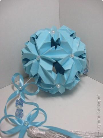 Кусудама Chrysanthemum by LEROY Амелии за мастер-класс спасибо!  http://stranamasterov.ru/node/93470?tid=451%2C850 фото 1