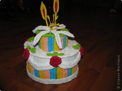 Тортик к 8 марта фото 1