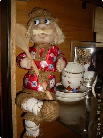 Моя первая попытка сшить куклу. Не все прошло удачно. Но, все-таки кукла получилась.
