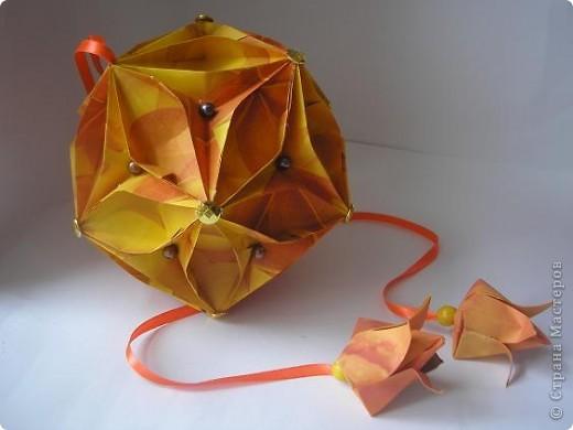Вот, вдохновляясь работами наших Мастеров  - Елена Борисовна, натолкнула меня на создание очередного грейпфрукта. фото 3
